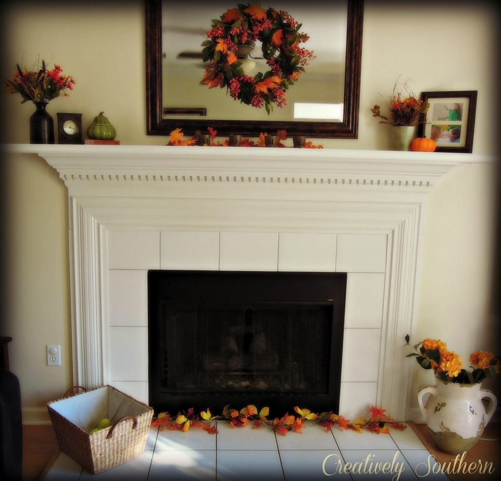 Unique Mantel Decorating Ideas Pattern Home