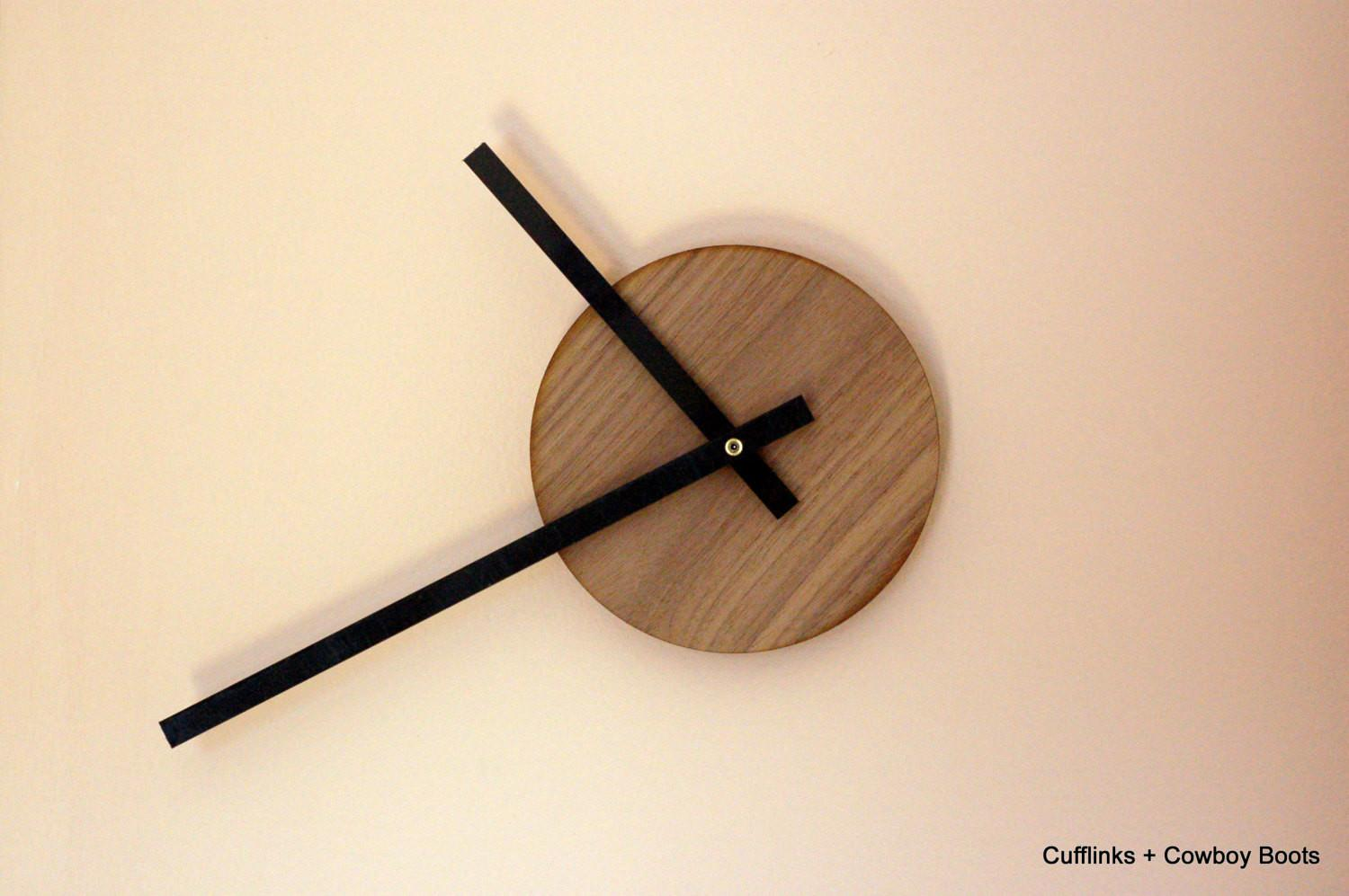 Unique Minimalist Modern Wall Clock