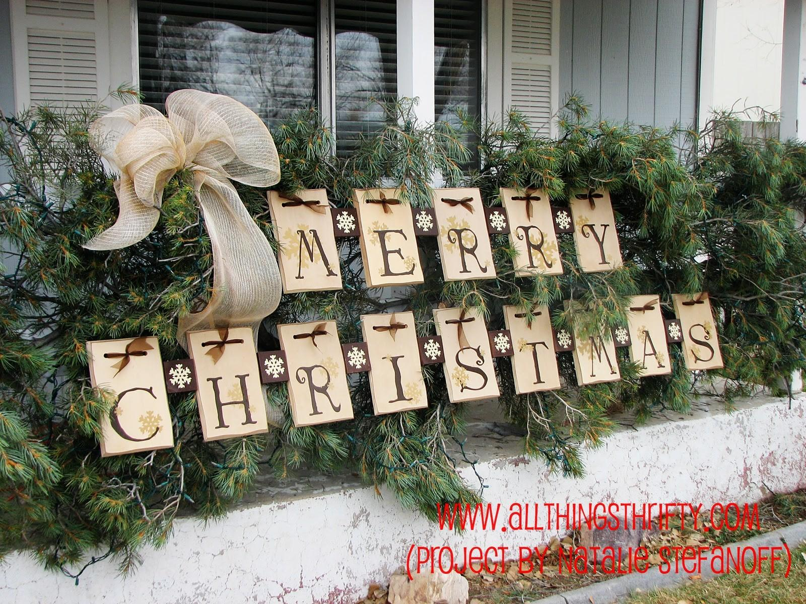 Unique Outdoor Christmas Decorations Ideas Home Design