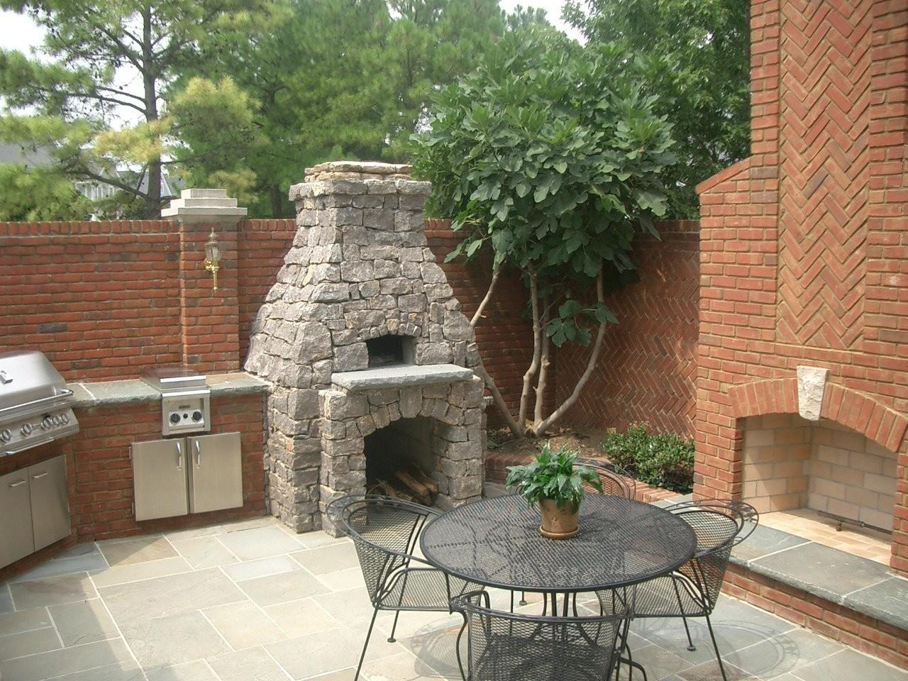 Unique Outdoor Fireplace Pizza Oven Stone