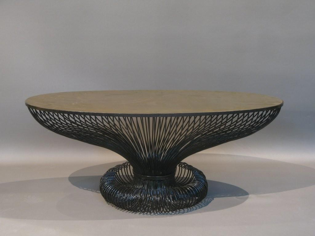 Unique Oval Coffee Table 1stdibs