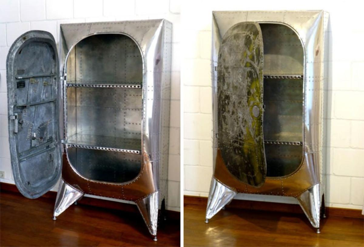 Unique Pieces Furniture Made Recycled Airplane