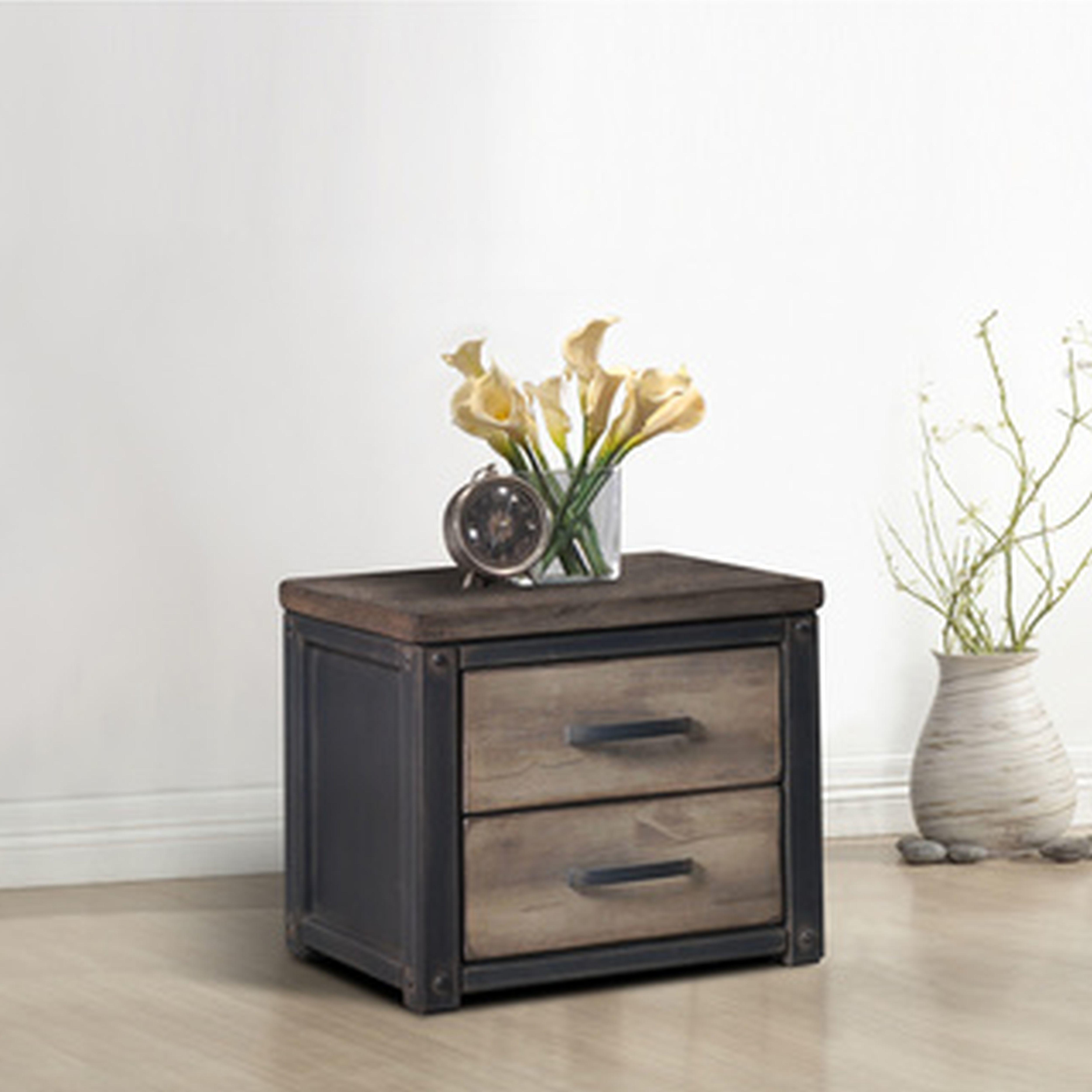 Unique Round Bedside Table Small Stand Modern Minimalist