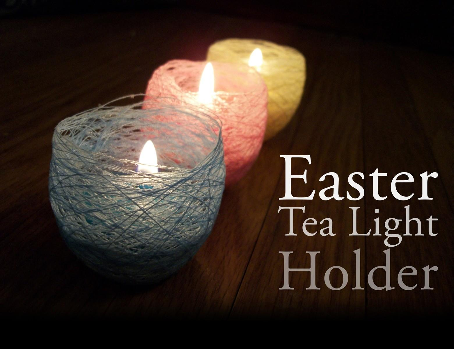 Unique Tealight Candle Projects