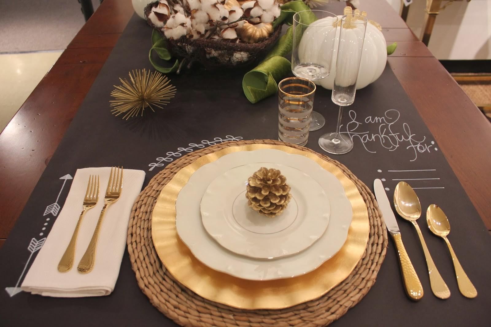 Unique Thanksgiving Table Runner Ideas