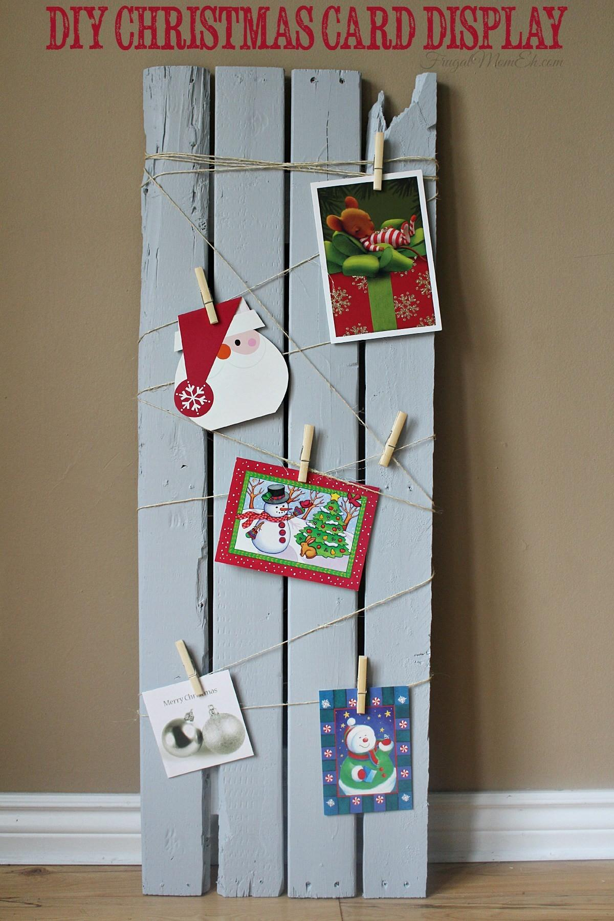 Unique Ways Display Your Christmas Cards