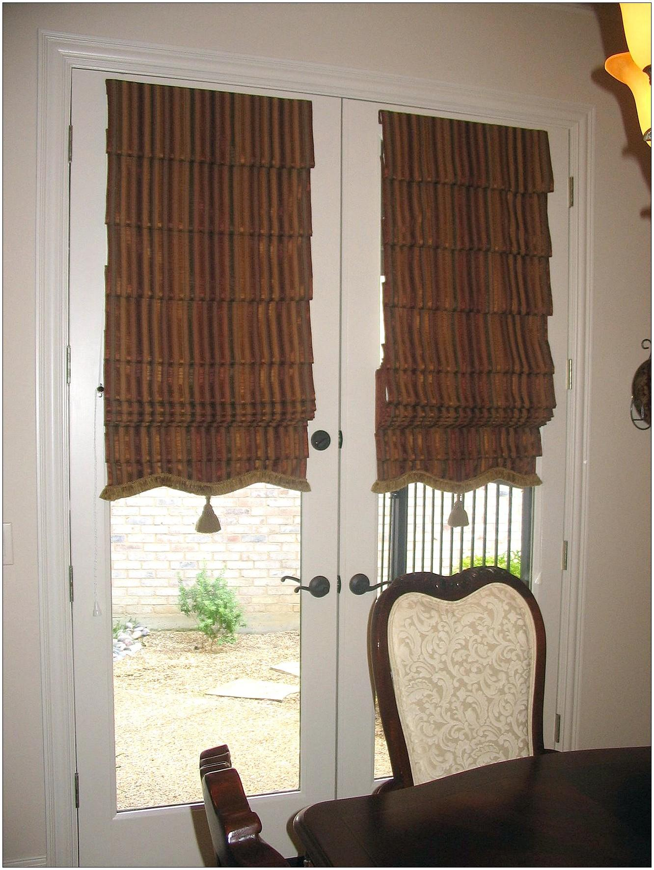 Unique Window Treatments French Doors