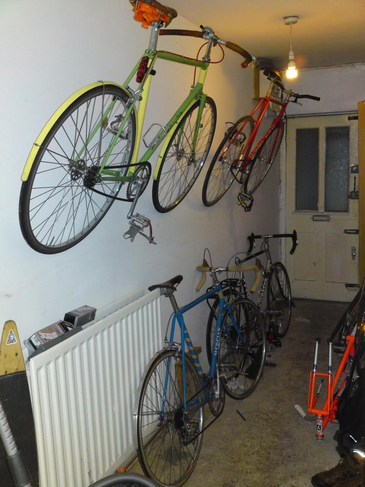 Unusual Bike Storage Method Singletrack Magazine