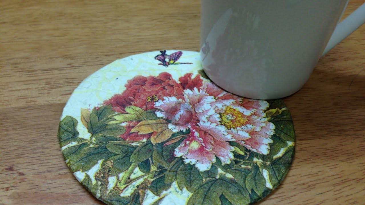 Upcycle Old Colorful Coaster Diy Home
