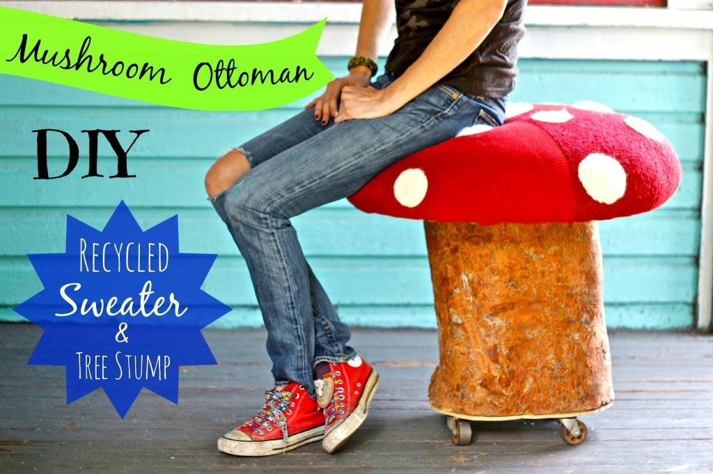 Upcycle Tree Stumps Into Furniture Ideas