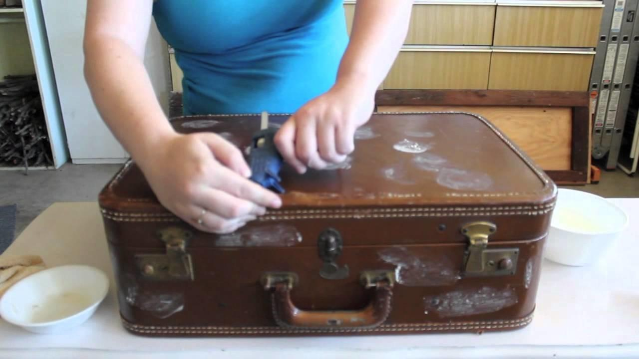 Upcycle Vintage Suitcase Clever Table