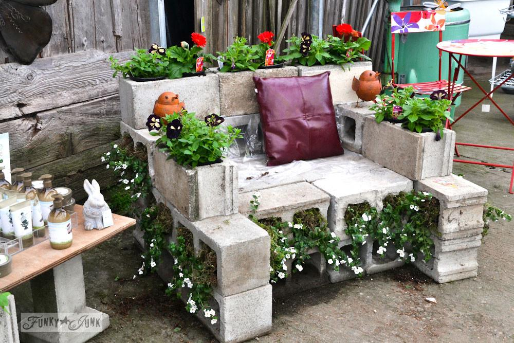 Upcycled Chairs Transformed Into Unique Garden Planters