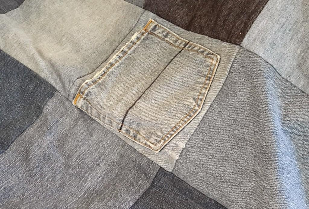 Upcycled Denim Patchwork Quilt Make Simple