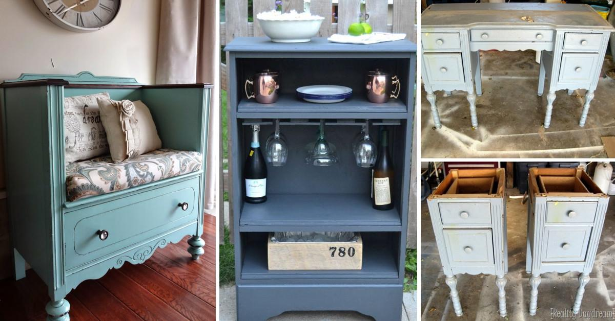 Upcycled Furniture Ideas Breathing New Life Into