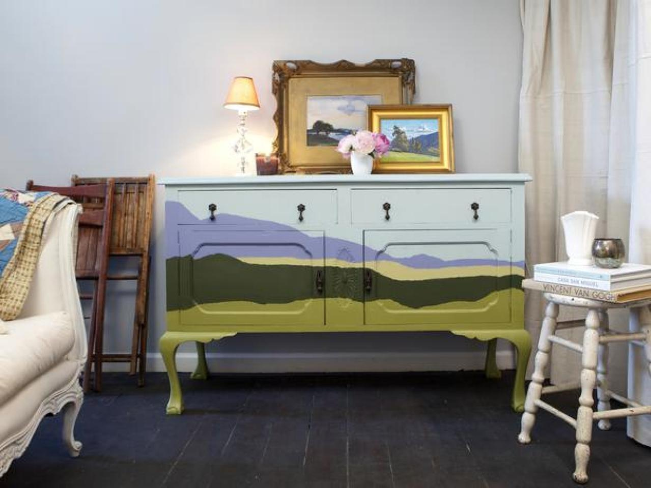 Upcycled Furniture Ideas Painting Paint