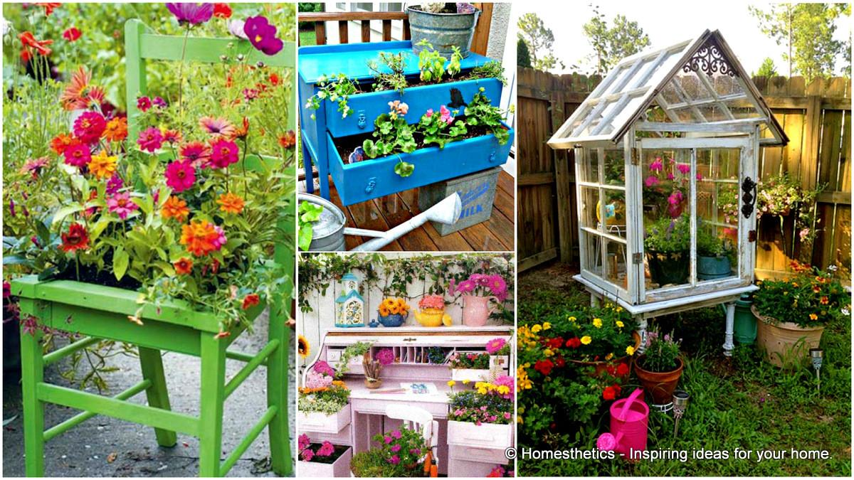 Upcycled Furniture Ideas Your Home Garden
