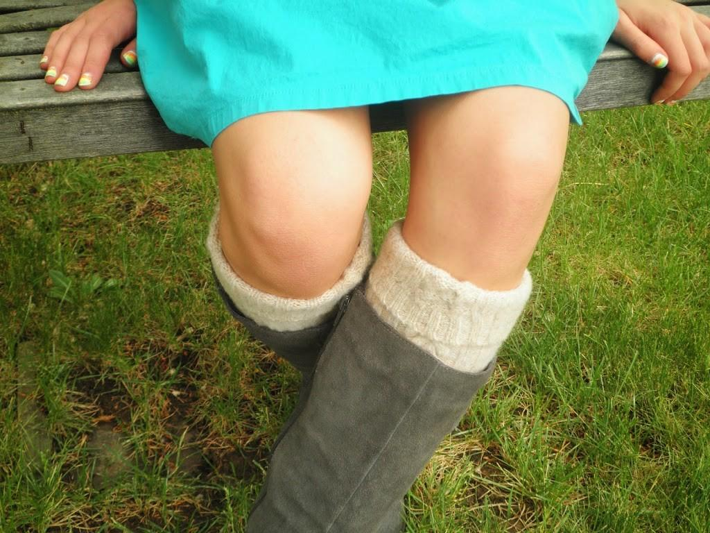 Upcycled Slipper Boots Make Simple