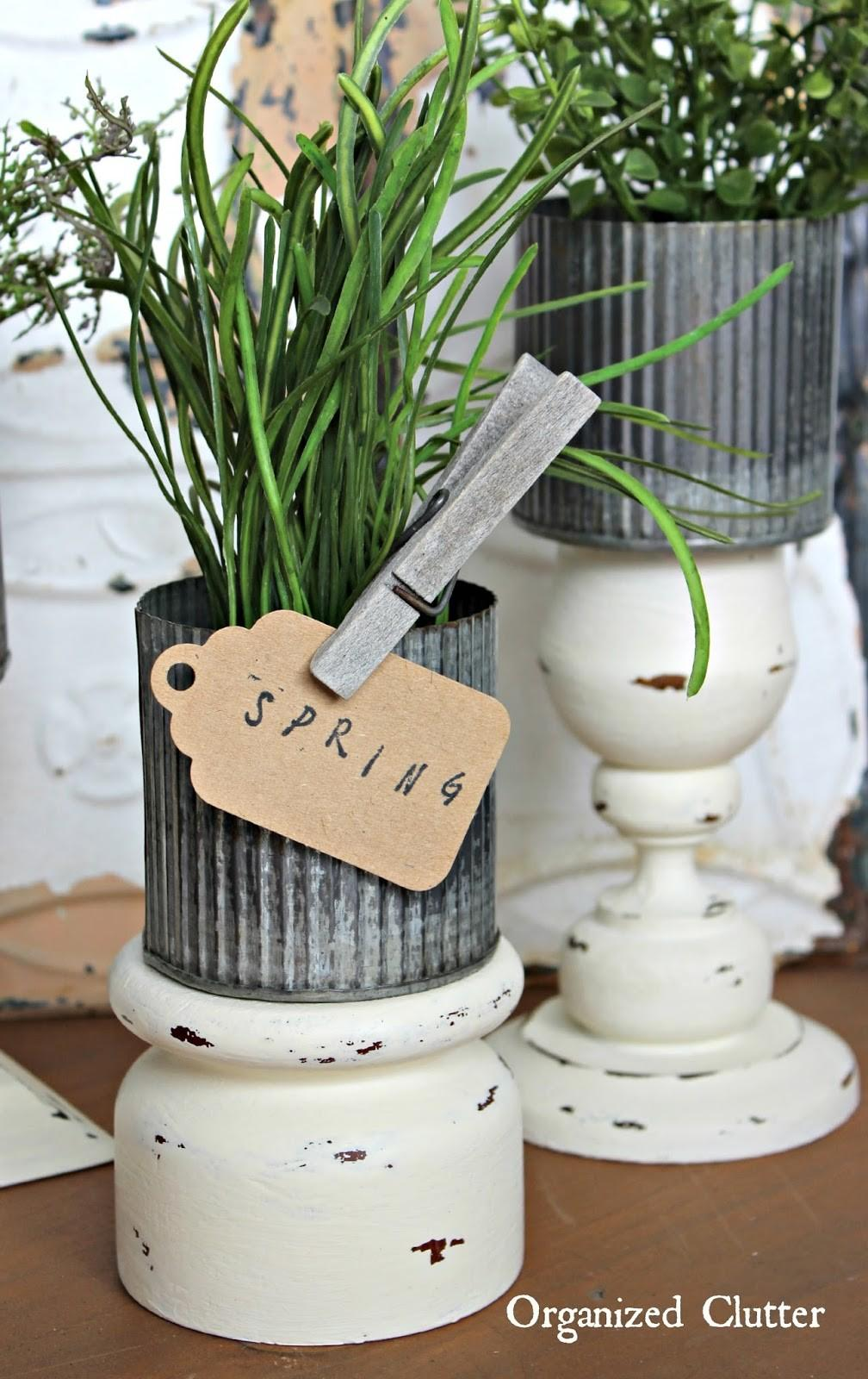 Upcycling Repurposing Organized Clutter