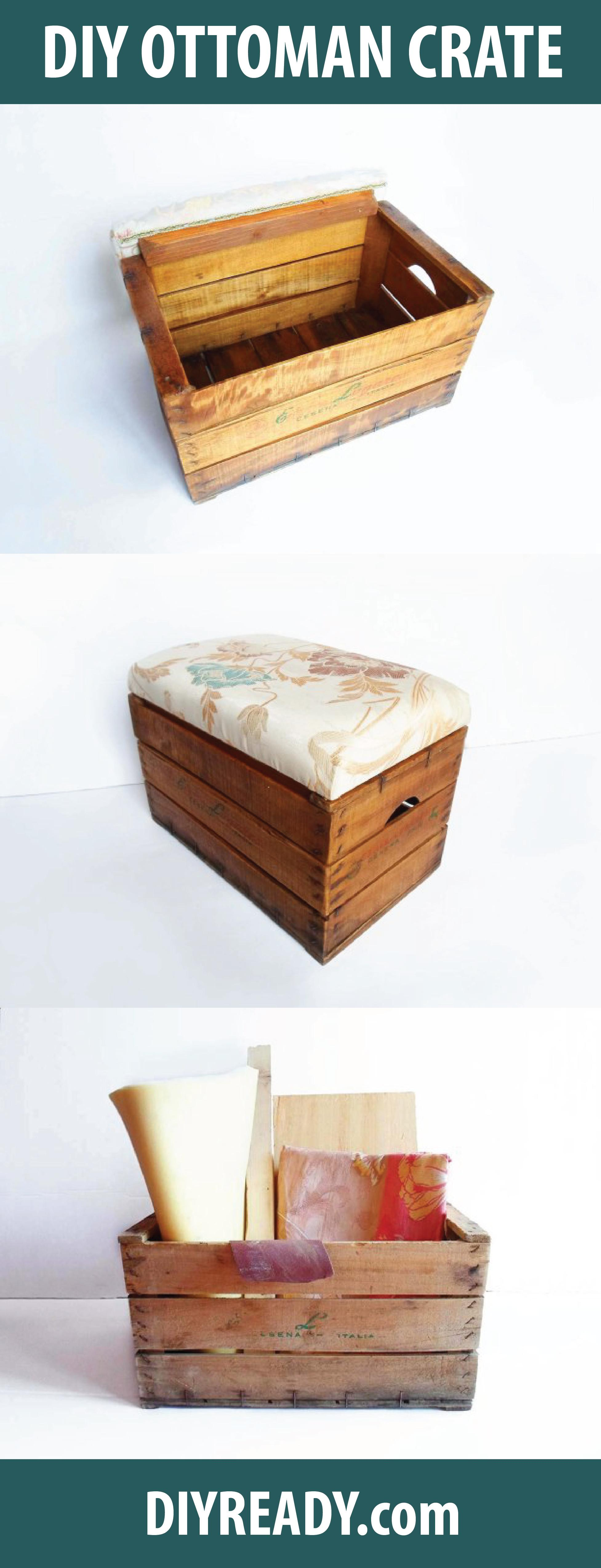 Upcycling Vintage Wooden Crate Diy Projects Craft Ideas