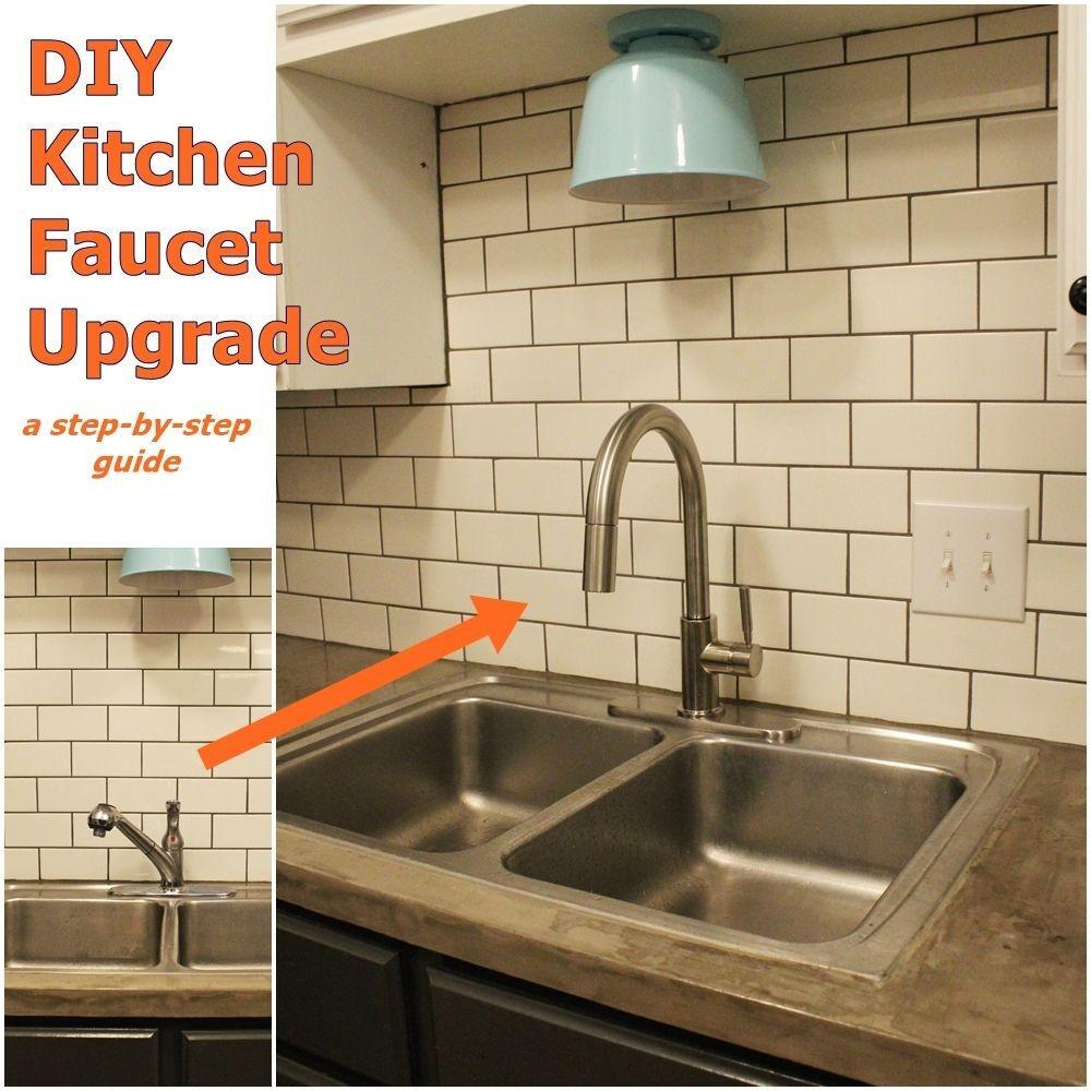 Upgrade Install Your Kitchen Faucet