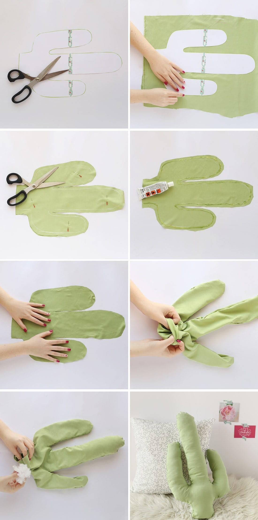 Upgrade Your Couch Hip Cactus Pillow Diy