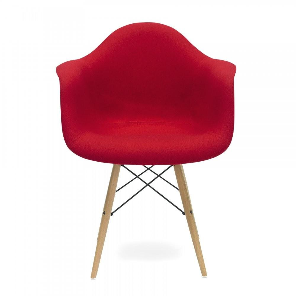 Upholstered Red Daw Style Chair Cult