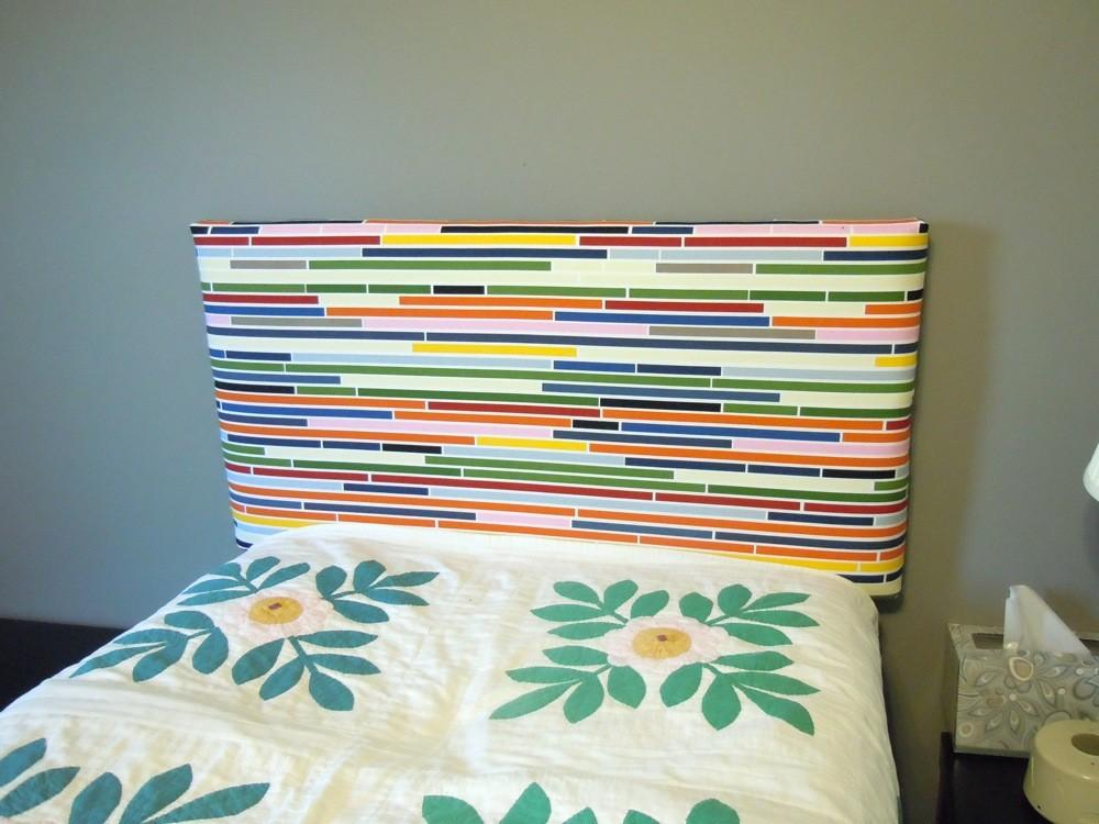 Upholstering Twin Sized Headboard