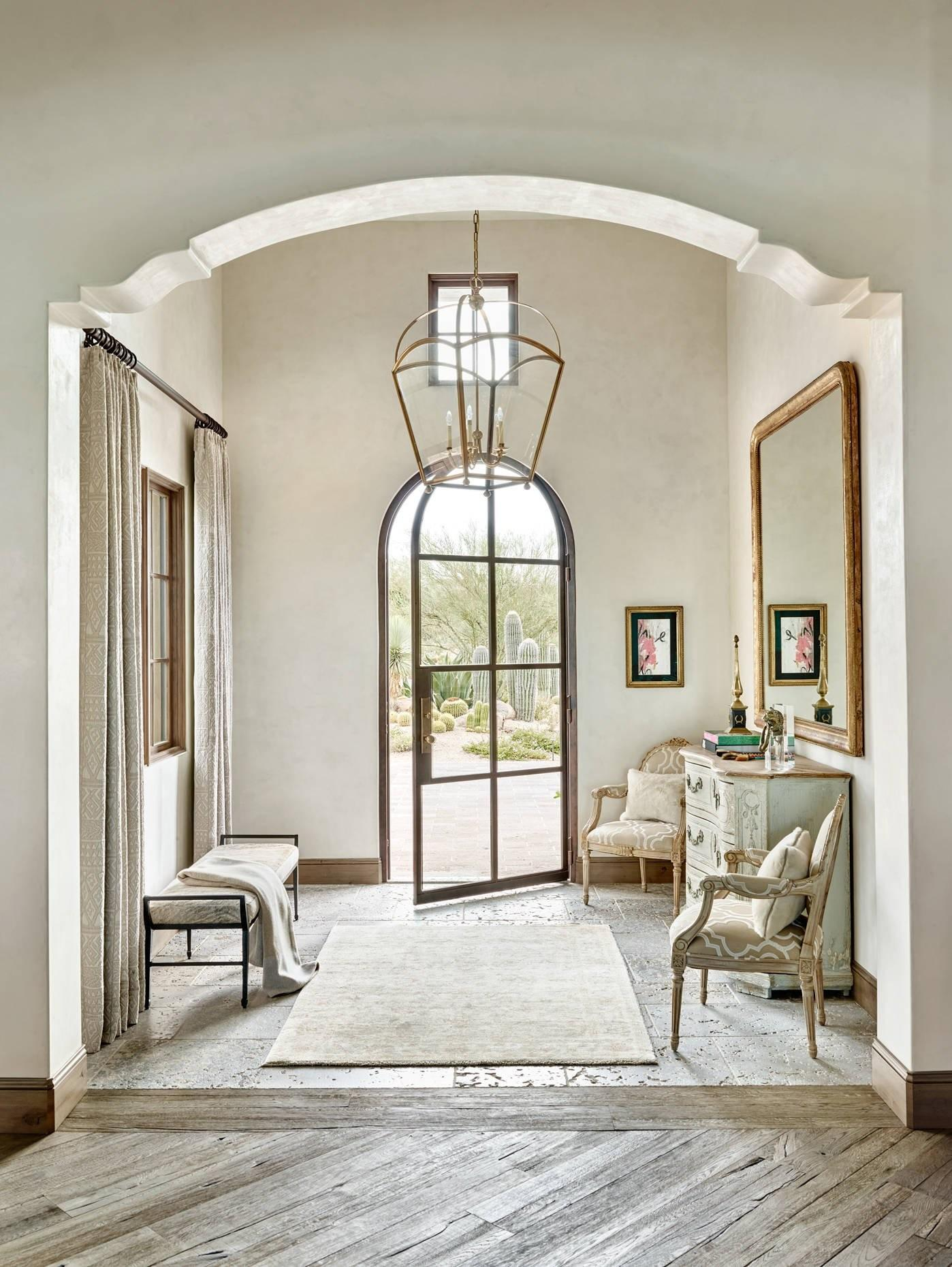 Uplifting Mediterranean Hall Designs