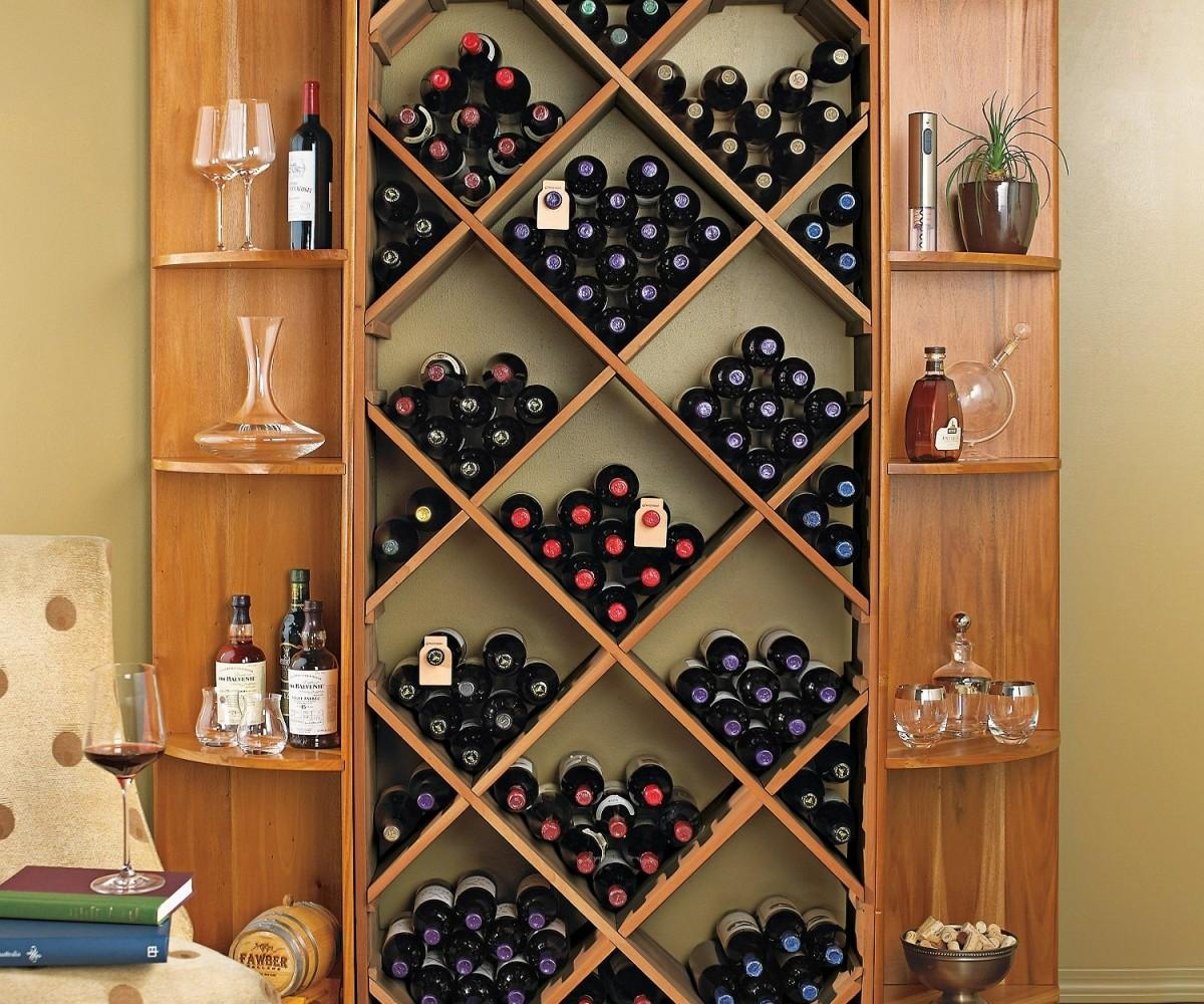 Upscale Latter Then Diy Wall Mounted Wooden Wine Glass