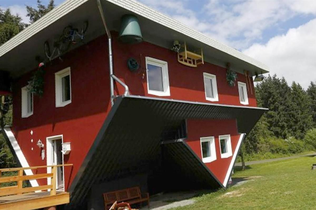 Upside Down House Draws Tourists Germany Nbc News