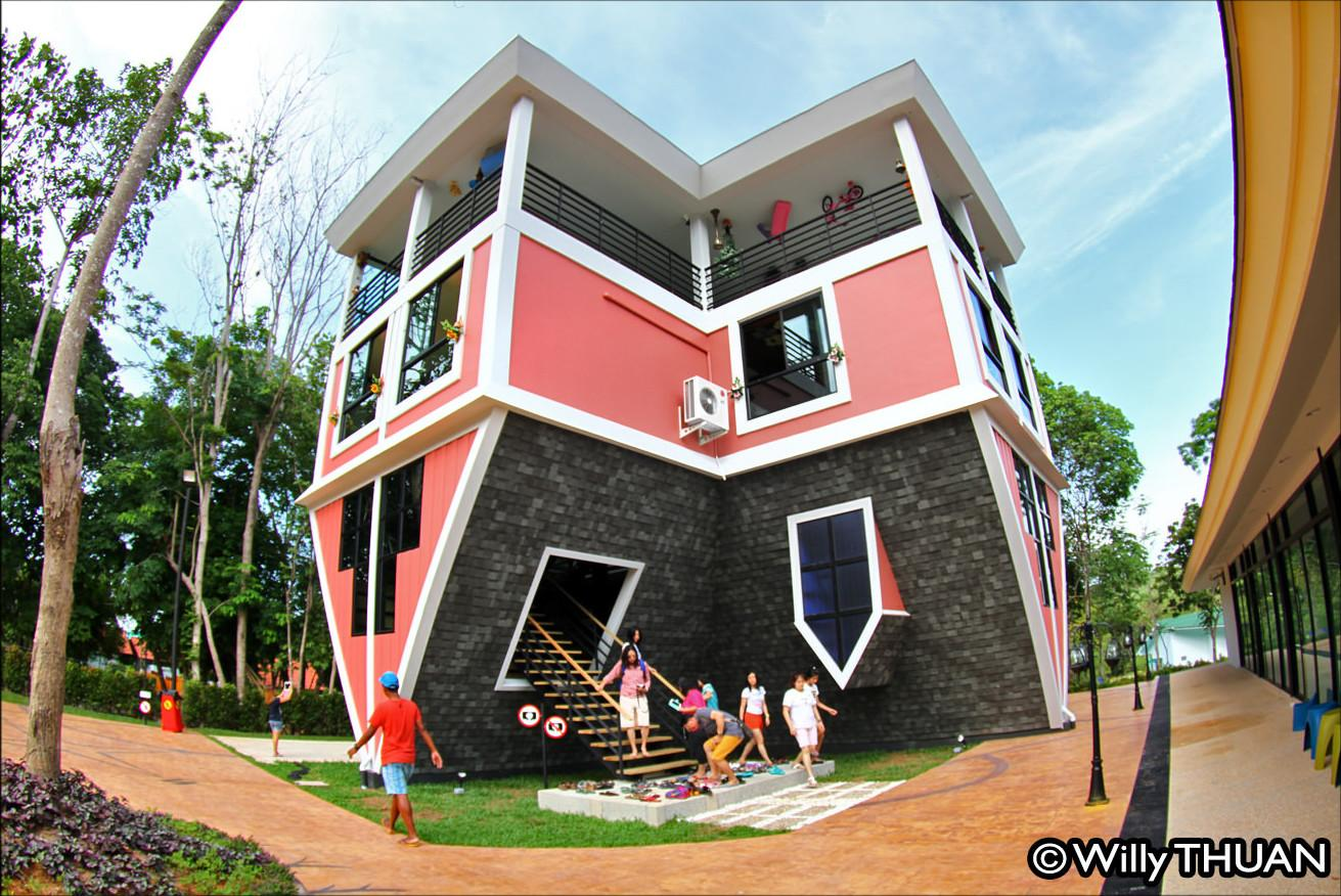 Upside Down House Home Design