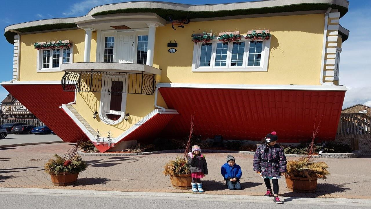 Upside Down House Niagara Falls Canada Cool