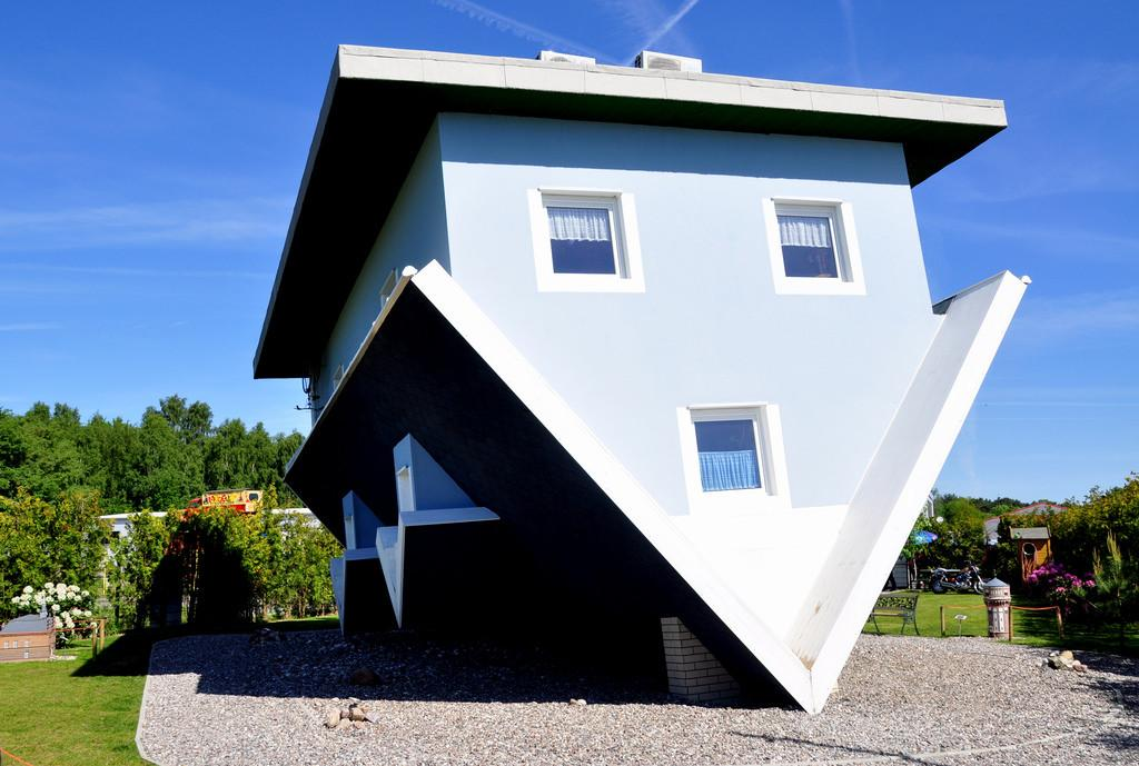 Upside Down House Trassenheide Island Usedom Germany