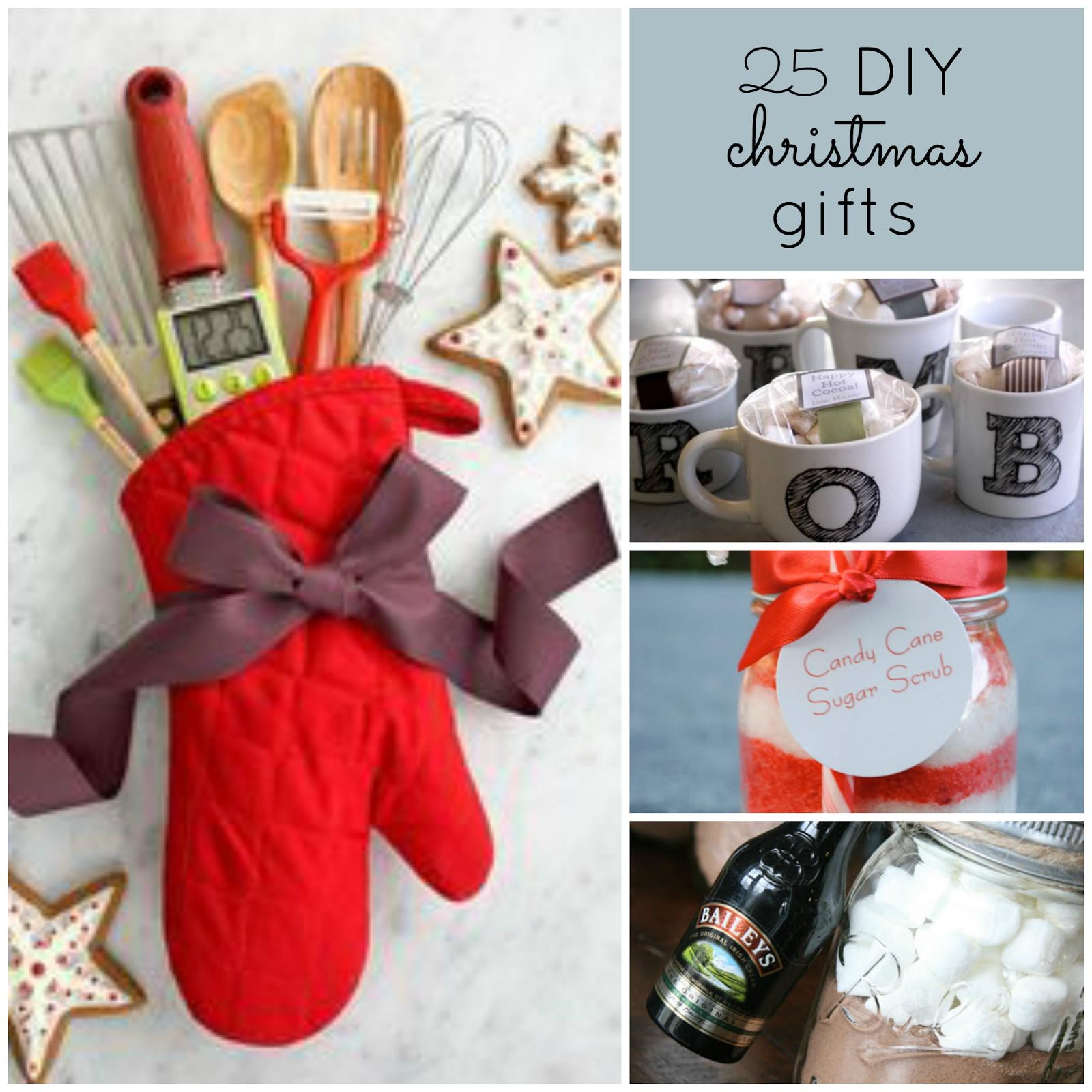 Upstairs Crafter Good Ideas Diy Christmas Gifts
