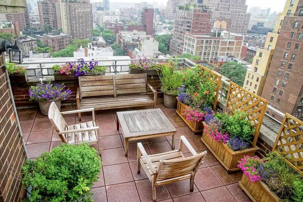 43 Perfect Urban Summer Terrace Design Ideas That Can Fit In Any