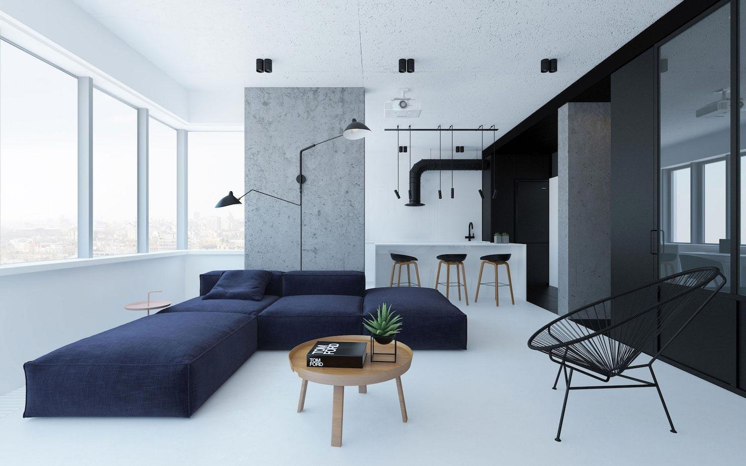 Urban Minimalist Apartment Kiev Managed Imprint