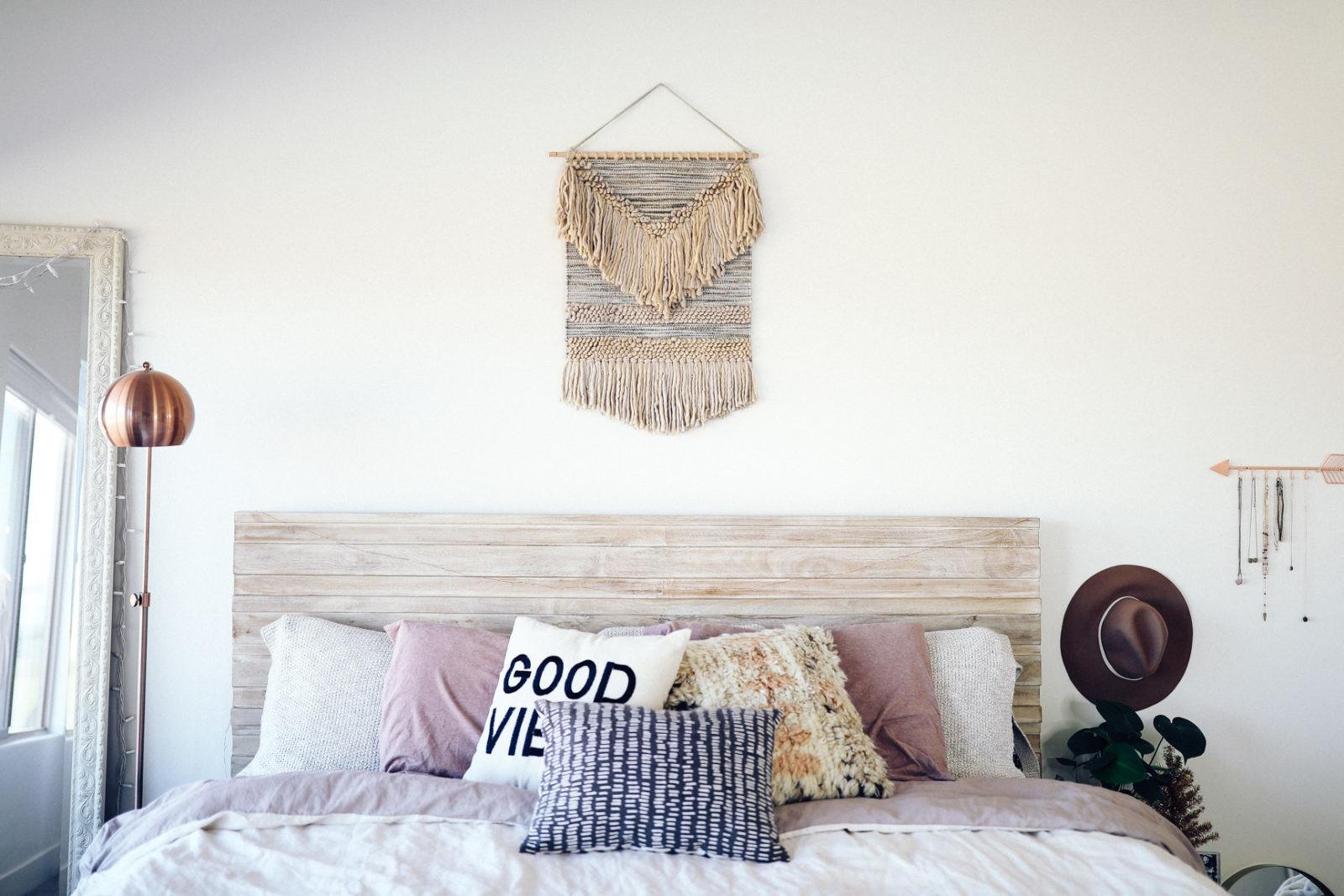 Urban Outfitters Pipe Frame Bed Bohemian Platform