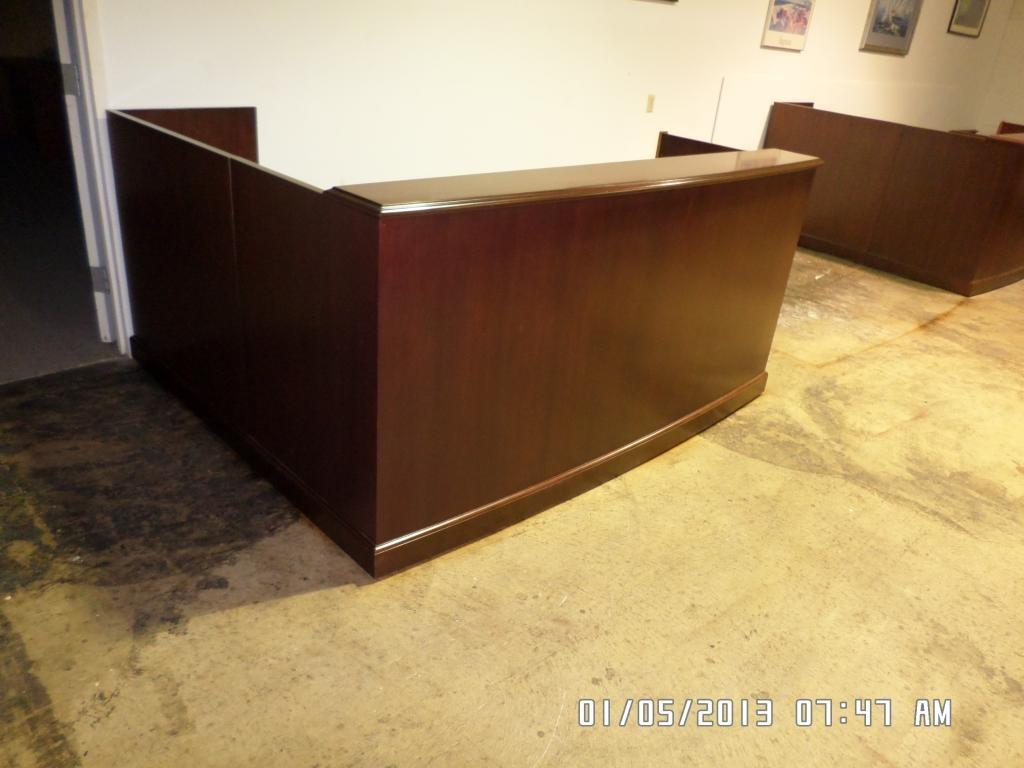 Used Office Reception Area High End