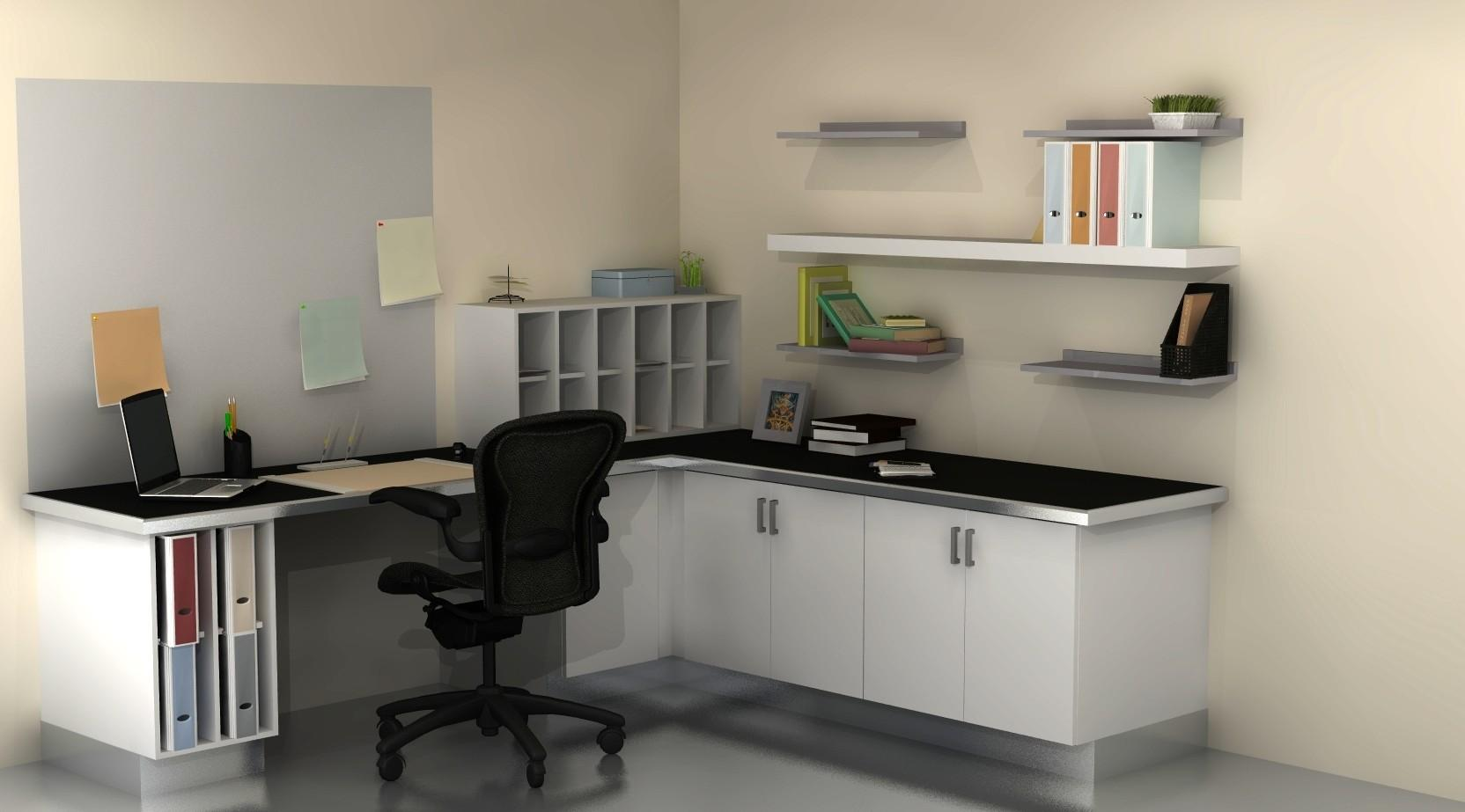 Useful Spaces Home Office Cabinets