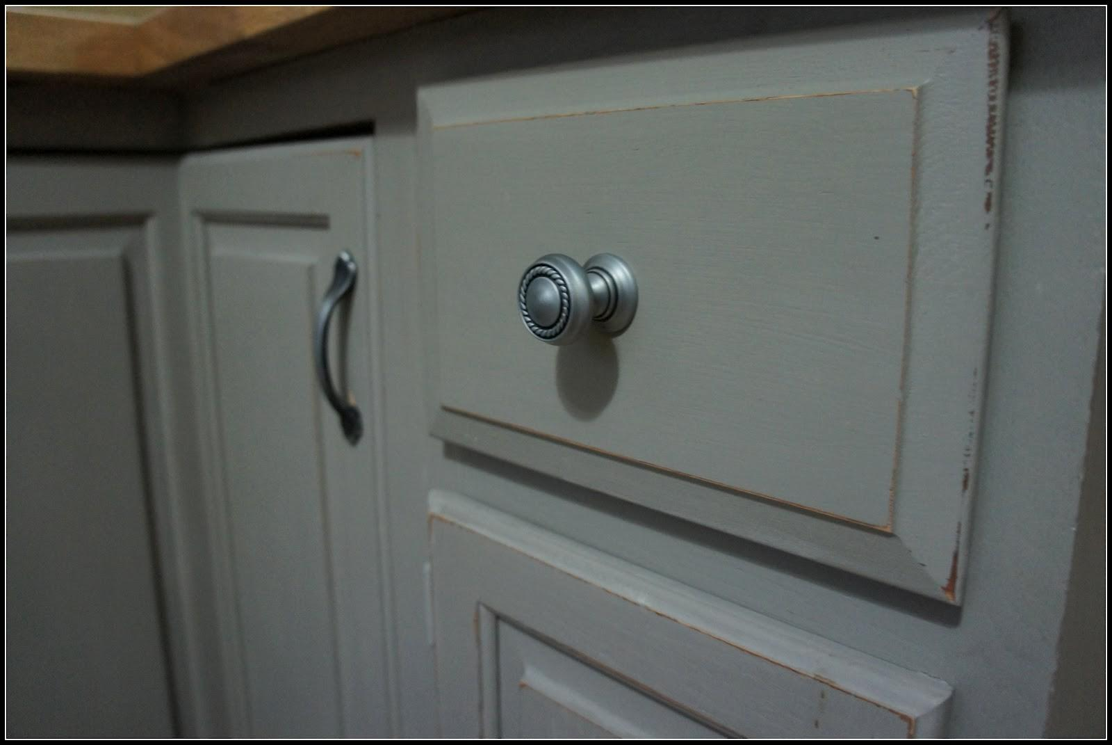Using Chalk Paint Kitchen Cabinets Hardware All