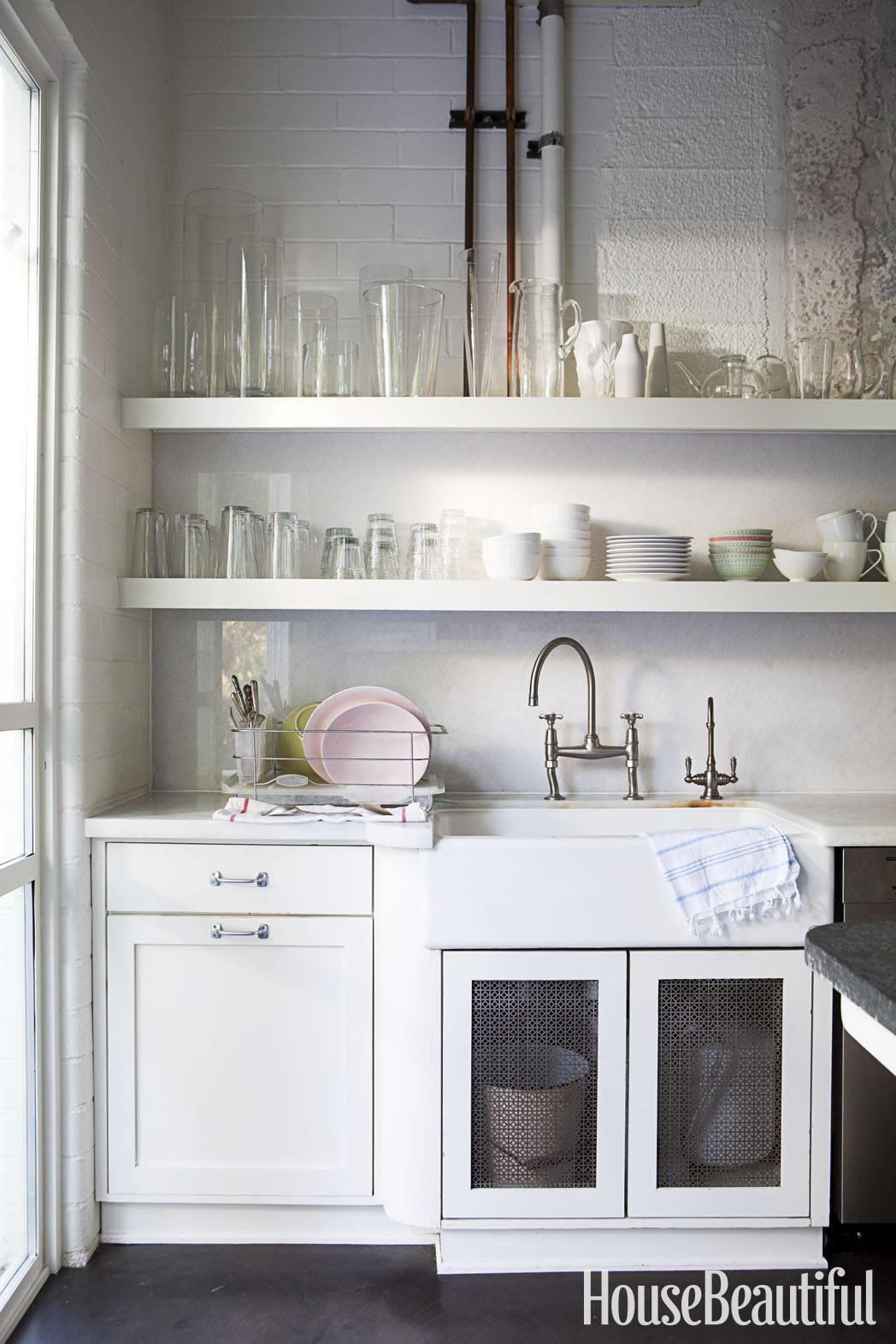 Using Open Shelving Kitchen Interior Collective