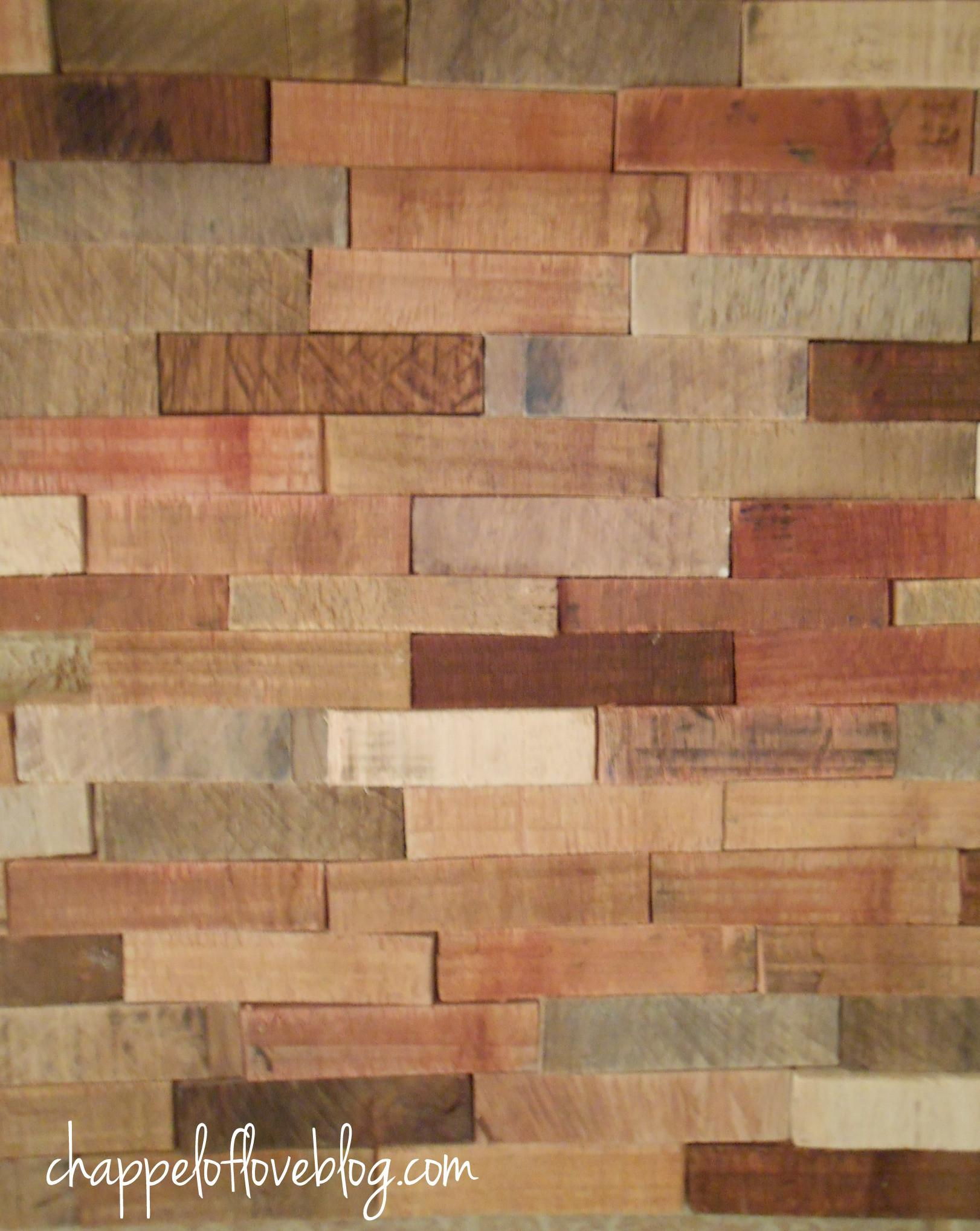 Using Reclaimed Wood Home Decor