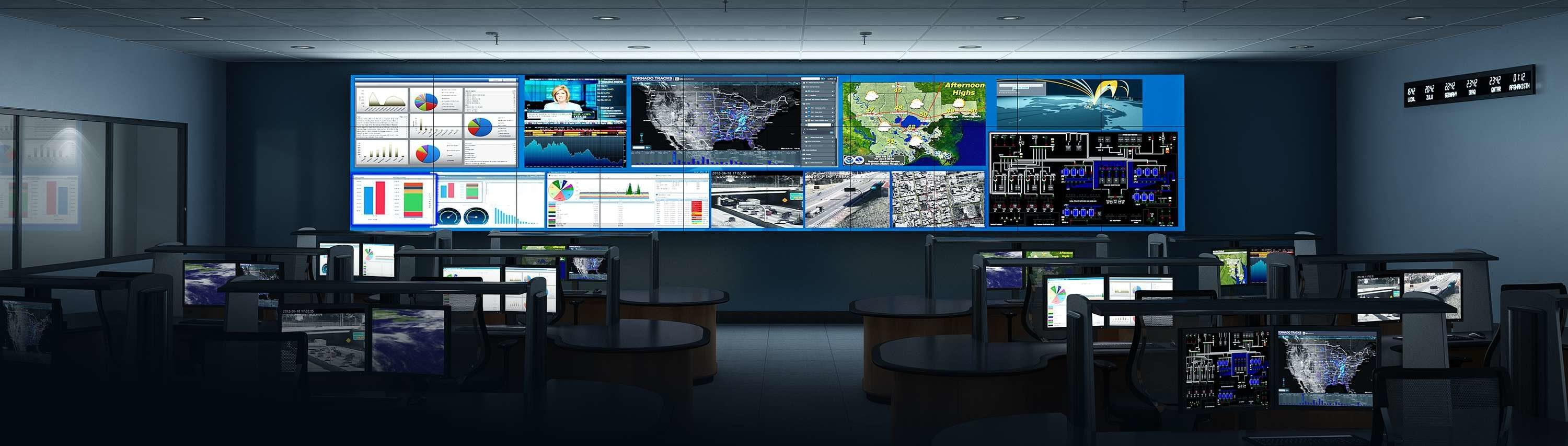 Utilities Process Control Display Systems Scada