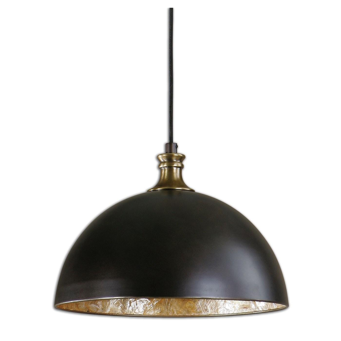 Uttermost Placuna Light Bronze Large Pendant Atg