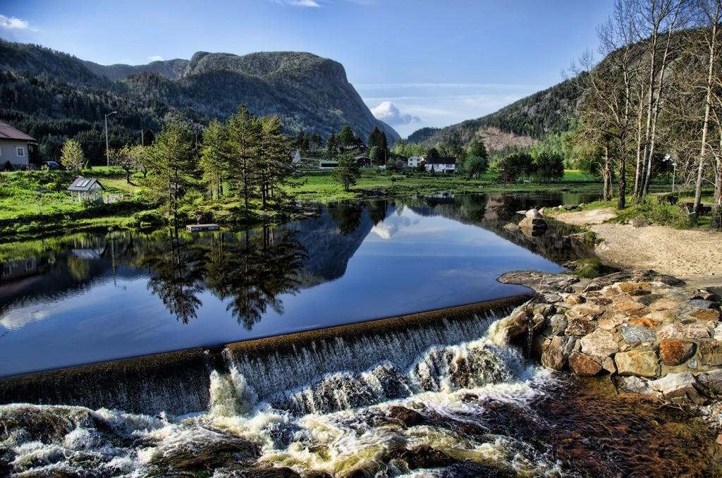 Vacation Norway Jigsaw Puzzle Waterfalls Puzzles