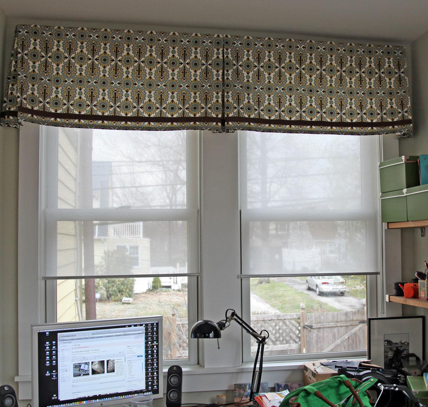 Valences Windows Double Window Treatment Valance