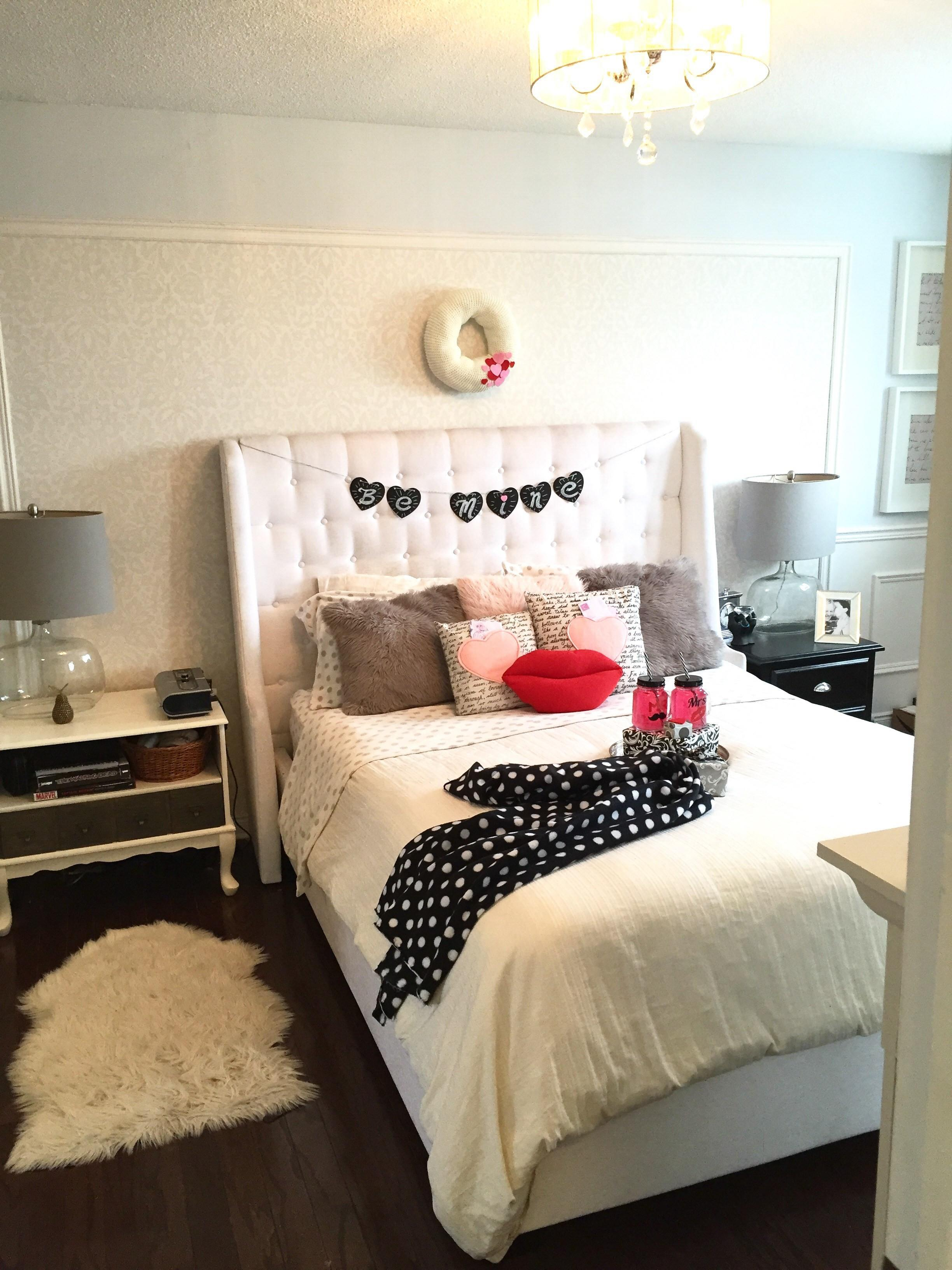 Valentine Day Bedroom Decor Purdy Little House