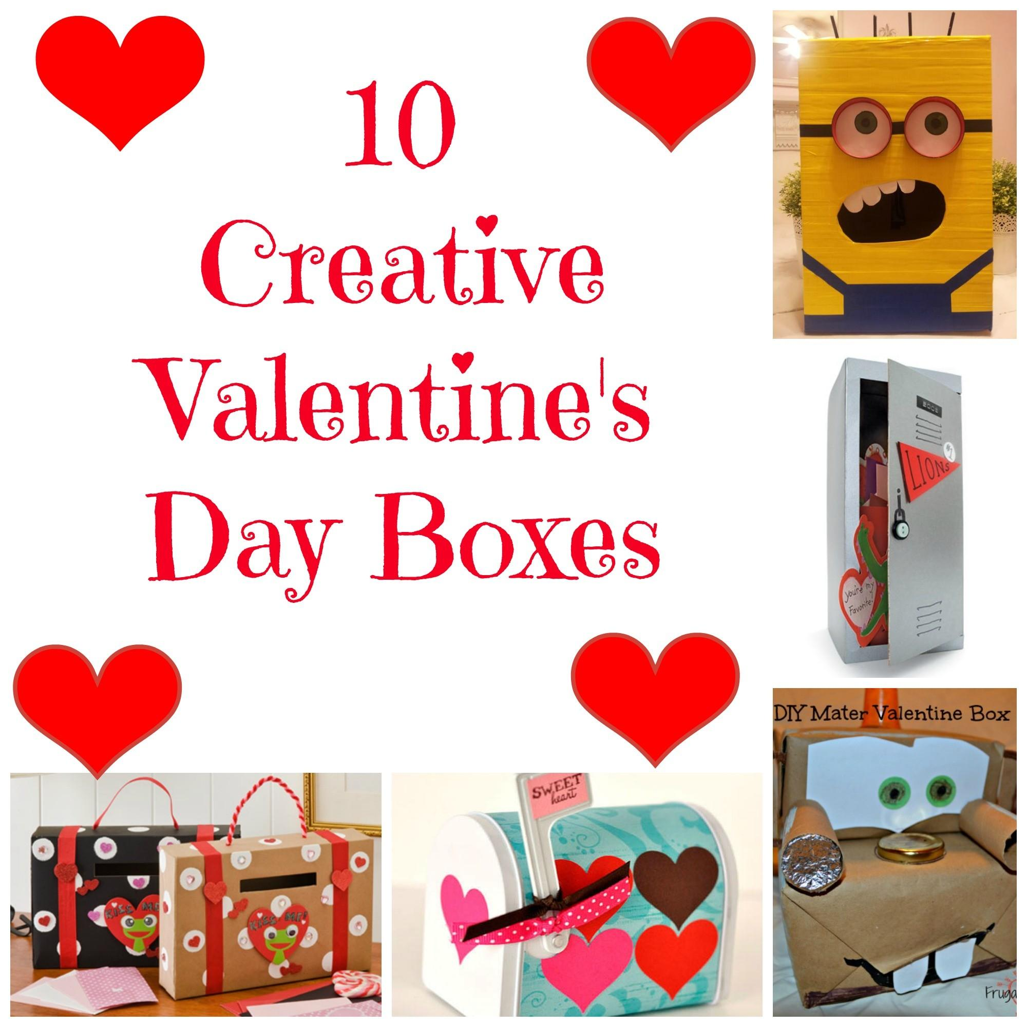 Valentine Day Box Ideas Kids Make Mom Side