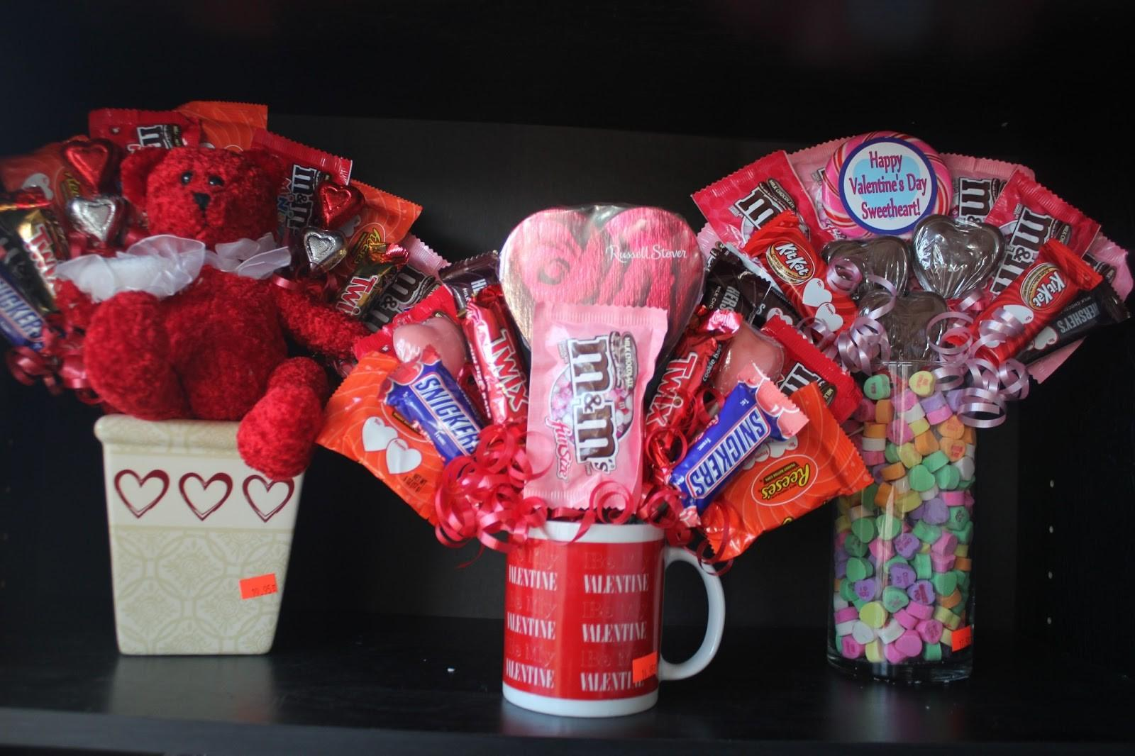 Valentine Day Candy Bouquet Diy Everyday Parties