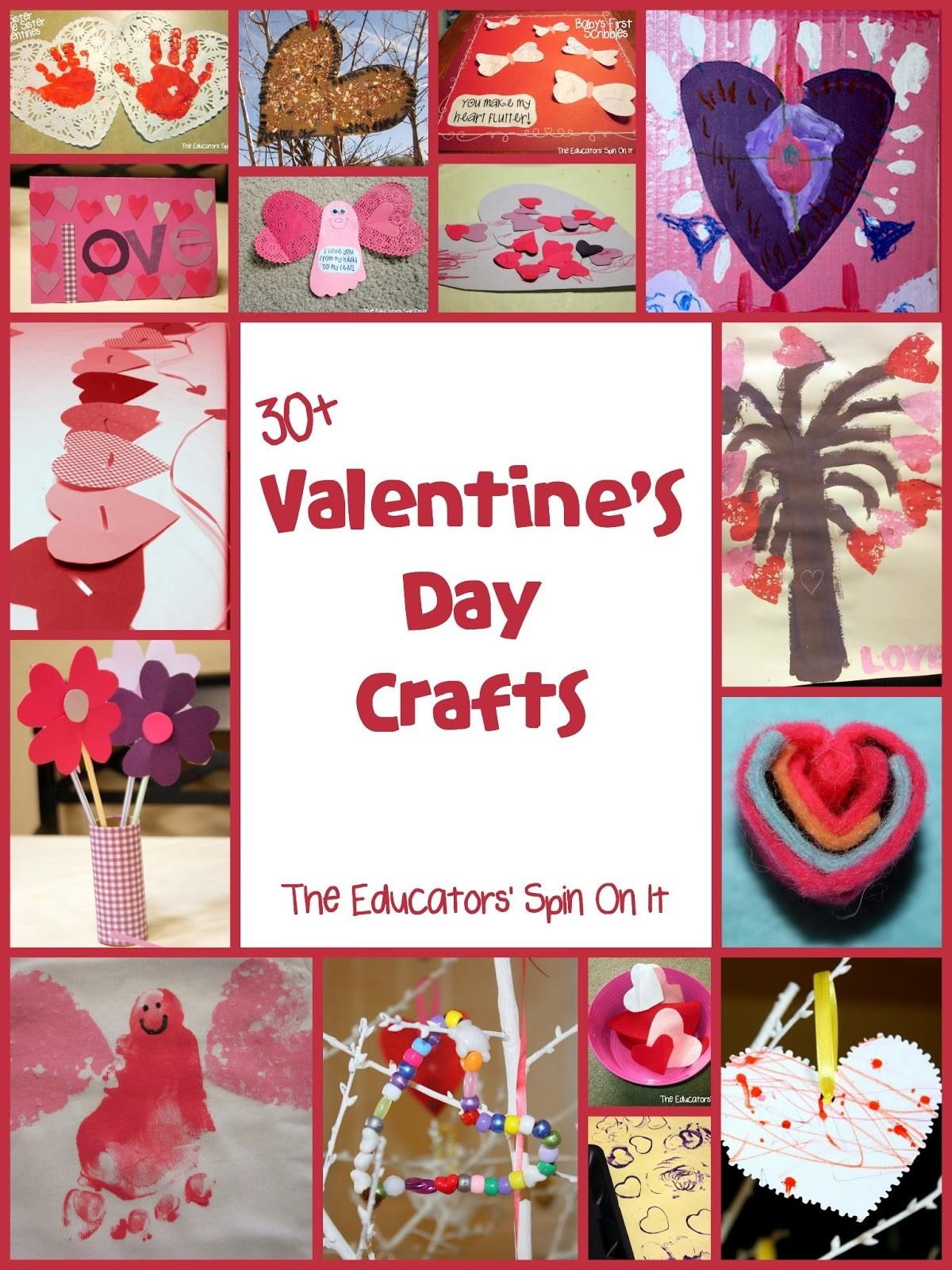 Valentine Day Crafts Activities Kids
